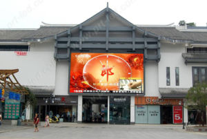 SMD3535 P6 Outdoor Rental display LED Sign with 576X576mm Panel pictures & photos
