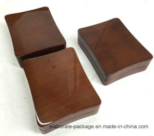 New Design Brown Wooden Necklace Package Box pictures & photos