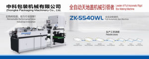 Zk-5540wl Cardboard Carton Forming Machine pictures & photos
