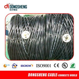 1000FT CT63 Twin Siamese Rg59 Coaxial Cable 2DC for CCTV pictures & photos