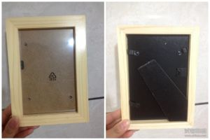 Environmental Home Decor Holding Solid Wood Picture Frame Photo Frame pictures & photos