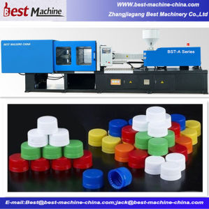 Automatic Horizontal Plastic Bottle Caps Injection Molding Making Machine pictures & photos