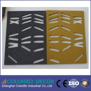 Noise Controal Wooden Grooved Acoustic Panel pictures & photos