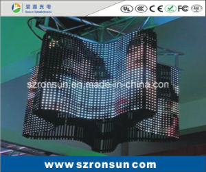 P6mm Flexible Curtain LED Display Screen pictures & photos