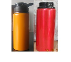600ML BPA Free Sports Aluminum Drinking Bottle With Handle, Wholesales BPA Free Metal Bottle