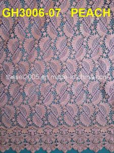 African Cord Lace Fabric pictures & photos