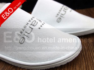 Disposable Velour Indoor Guestroom Guesthouse Hotel Slipper pictures & photos