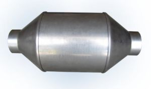 LPG Catalytic Converter with Metal Honeycomb Catalyst pictures & photos