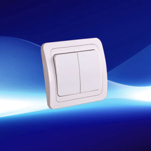 2 Gang Wall Switch European Style Without Light (YW8004)