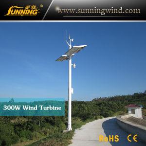 Mini 400W Wind-Solar Hybrid Street Light Power Supply Wind Turbine pictures & photos