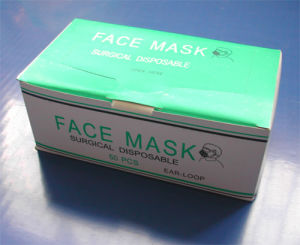 3 Ply Face Mask with Tie on pictures & photos