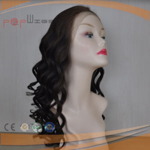 Human Hair Bleached Knots Work Full Lace Natural Color Glueless Wig pictures & photos