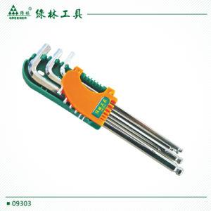 9 PCS Metric Blue Allen Key Hex Wrench pictures & photos