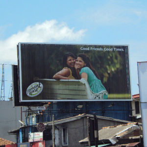 Roof Top Horizontal Trivision Billboard Display pictures & photos