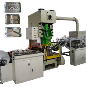 High Speed Fully Automatic Aluminium Foil Container Production Line pictures & photos