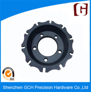 Durable Precision Rotor Bell Car Spare Part Machining with Black Anodized pictures & photos