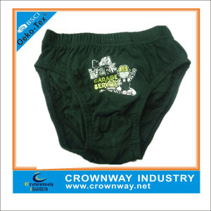 Custom Toddler Boy Underwear Briefs with Cotton Fabric pictures & photos