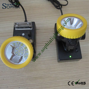 3000mAh Explosive Rechargeable LED Mining Head Lamp pictures & photos