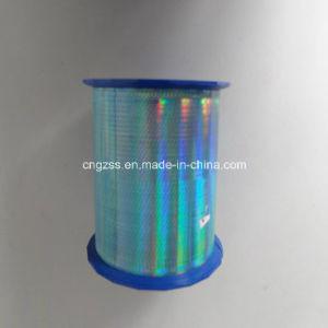 Customized Bule Hologram Laser Anti-Fake BOPP Single Side Adhesive Tear Tape