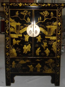 Chinese Antique Painted Cabinet Lwb811 pictures & photos