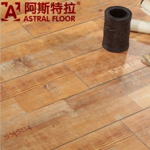 2015 Hotsale New Product 12mm Letter Laminate Flooring (AST51) pictures & photos