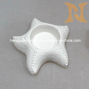 Ceramic Marine Series of Sea Star Candle Holder, Home Decoration pictures & photos