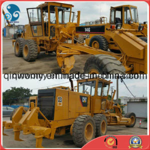 Original-Yellow Ce/SGS-Standard Shanghai-Port-Shipping 40~400ton/H Used Caterpillar 14G Motor Grader pictures & photos