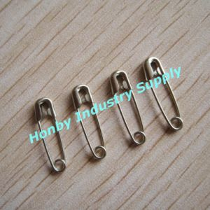 Fashion Using Metal Silver and Gold Safety Pins for Decoration (P160712A) pictures & photos