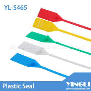 Disposable Plastic Truck Seals with Barcode Printed (YL-S465) pictures & photos