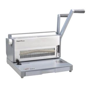 Manual Double Wire Binding Machine for Office and Commercial (SUPER23 PLUS) pictures & photos