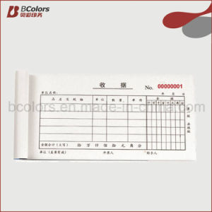 Printed Carbonless Copy Receipt Book pictures & photos