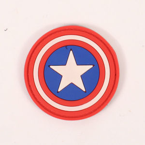 High Quality Soft Rubber Badges pictures & photos
