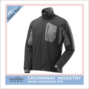 Men Outer Wear Waterproof Softshell Jacket with Custom Logo Badge pictures & photos