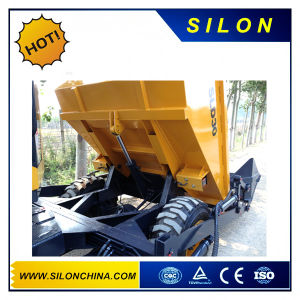 Silon Brand 3t Dumper Truck Sld30 with Self-Loading Bucket pictures & photos