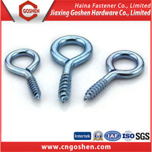 Carbon Steel Zinc Plated Eye Hook Screw pictures & photos