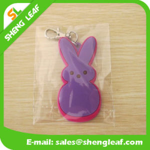 New Customized Soft Rubber 3D Promotional Key Chain (SLF-KC014) pictures & photos