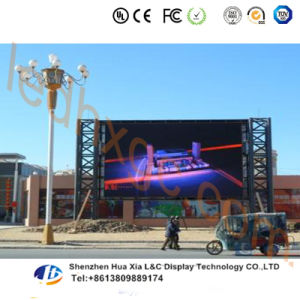 P16 Outdoor Full Color LED TV Display Video Wall Rental Iron Cabinet