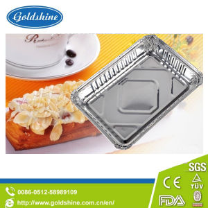 Disposable Household Aluminum Foil Tray with Lid pictures & photos