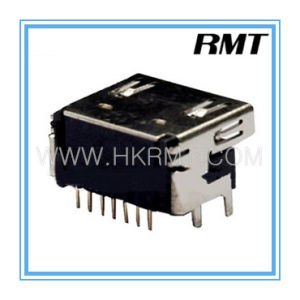 HDMI 19p Female a Type Pad Connector (RMT-160325-033) pictures & photos