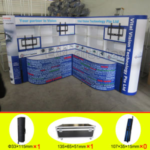 Custom Aluminum Fabric Portable Trade Show Exhibition Display pictures & photos