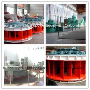 Vertical Kaplan Hydro (Water) Turbine-Generator 3-8m Head Zzt03 /Hydropower /Hydroturbine pictures & photos