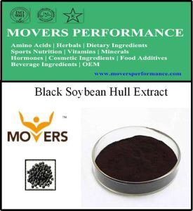 Supply Natural Extract Black Soybean Hull Extract pictures & photos