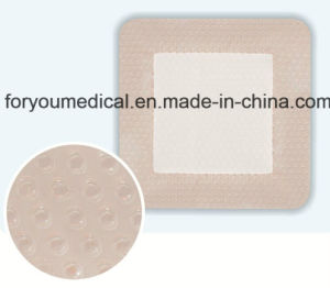Medical Dressing Wound Care Dressing Adhesive Foam Dressings with Silicone pictures & photos