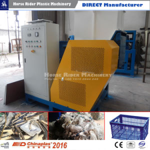 Single-Shaft Multifunction Waste Plastic Film Reycling Machine pictures & photos
