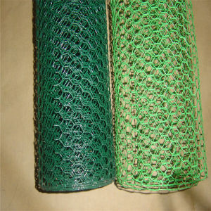 0.5 to 3mm Wire Zinc or PVC-Coated Hexagonal Wire Mesh pictures & photos
