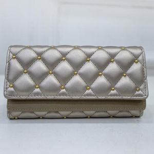 fashion Woman Clutch Wallets Luxury Women Wallets Vintage Rivet Purses (W6064) pictures & photos