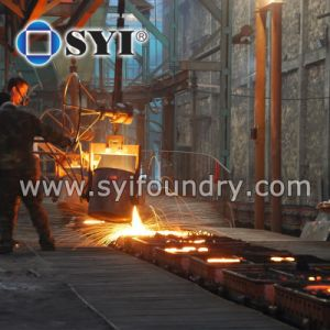 High Quanlity Ductile Cast Iron Bench Leg of Syi pictures & photos