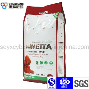 5 Kg Laminated Dimensional Pet Food Packaging Bag pictures & photos