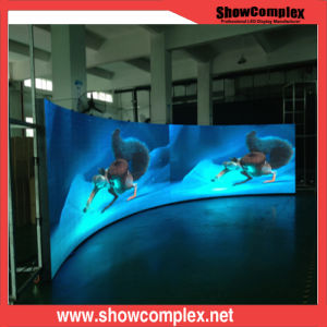 Outdoor Full Color LED Advertising Display with Curved Panel (P10) pictures & photos