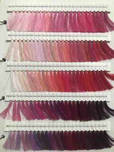 Dyed Color 100% Polyester Textile Sewing Yarn for Clothes and Bags pictures & photos